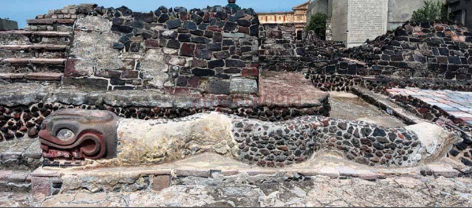 El Templo Mayor de Tenochtitlán - México, DF.