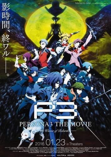 Visual dan Trailer Baru Persona 3 the Movie #4 Winter of Rebirth Diunggah