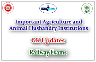 Very Important Agriculture and Animal Husbandry Institutions