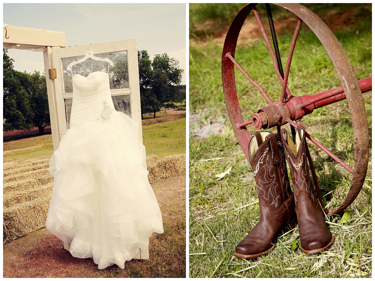 Bride In Dream Outdoor Country Wedding Theme
