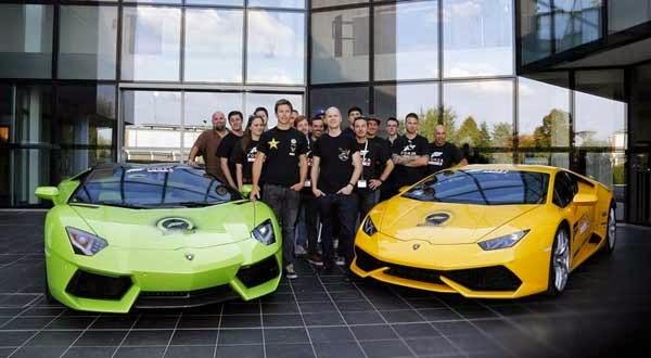 Lamborghini Huracan Begins Forza Fuel Challenge