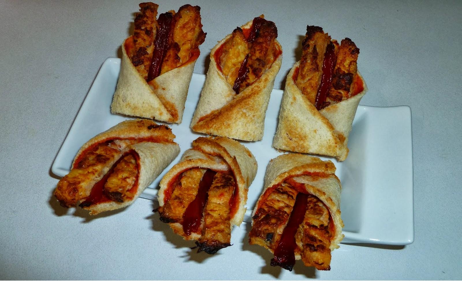 Bocaditos de tortilla de atún