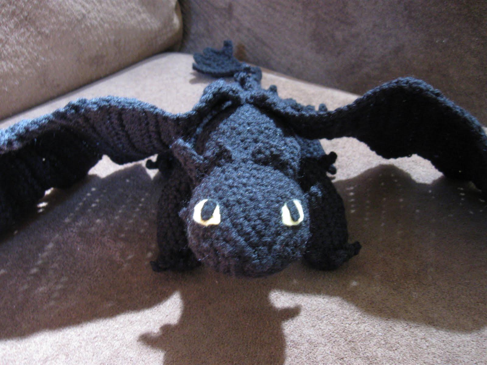 Mostly Nerdy Crochet: Crochet Toothless II