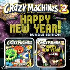 Crazy Machines 2 Happy New Year Bundle Edition   PC