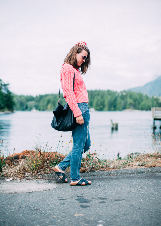 Laid back wear after surfing in Tofino while on Vacation, In My Dreams, style and fashion blogger.