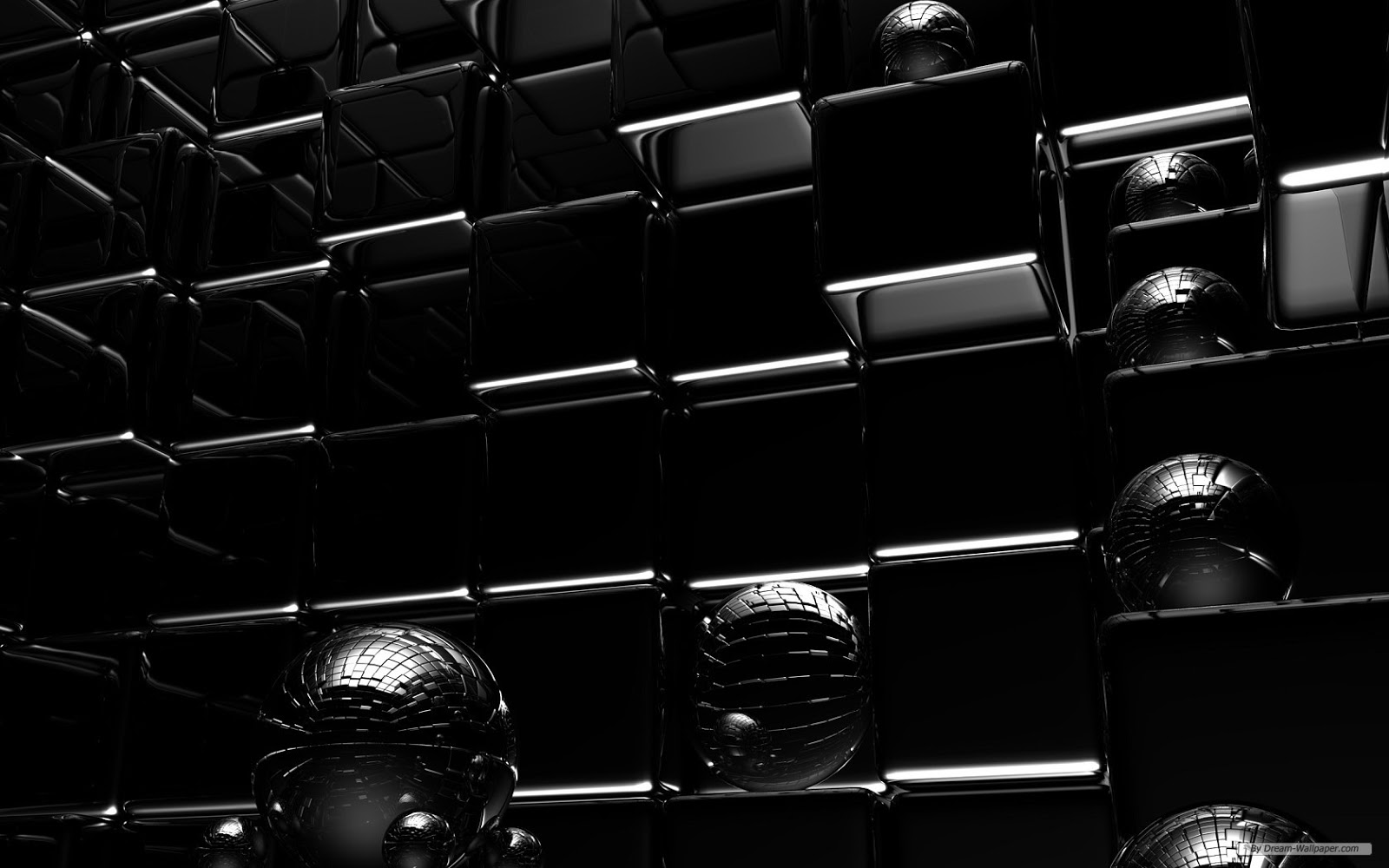 Black wallpaper 3d free download wallpaper dawallpaperz for Black and white wallpaper 3d