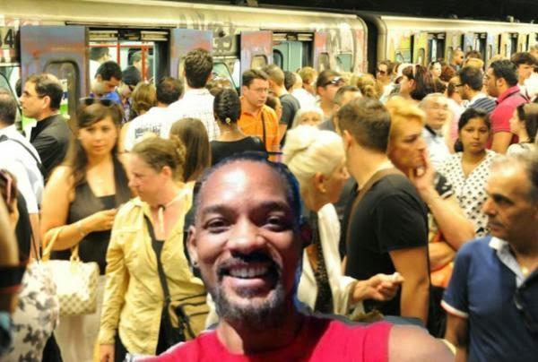 Will Smith visita Roma #Atac