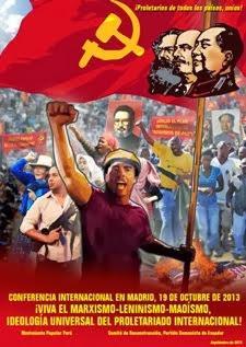 CONVOCATORIA: CONFERENCIA INTERNACIONAL EN MADRID, EL 19 DE OCTUBRE DE 2013