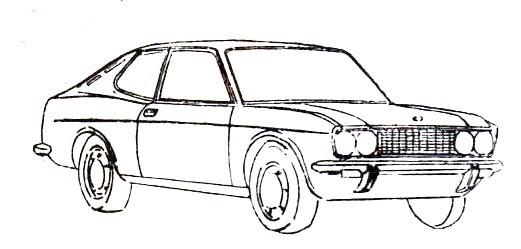 jescarclassic  fiat 128 sport coupe 1971