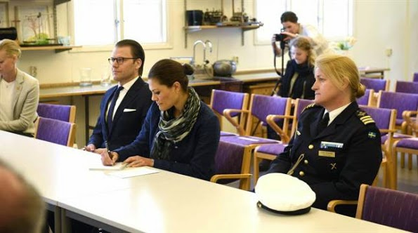 Princess Victoria, Prince Daniel And Princess Estelle Visits Kalmar