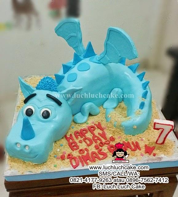 Kue Tart 3d Naga Daerah Surabaya - Sidoarjo