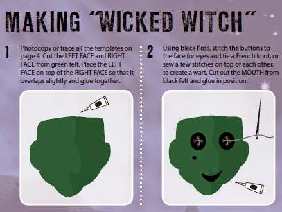 Wonderfully Wicked Witches  sample instructions