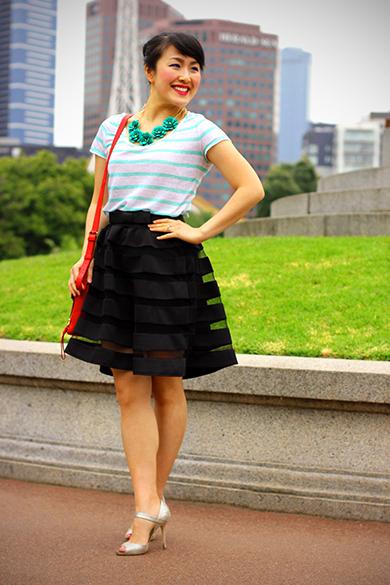 Ann Taylor Loft Christmas Outfit
