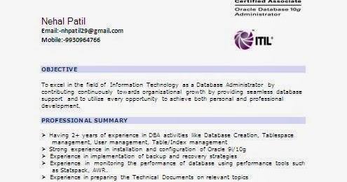 System Administrator With 5 Years Experience Resume