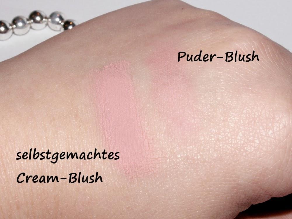 Cream-Blush DIY - Notfall Nr. 2: Euer Puder-Blush gibt kein Farbe ab - Das Ergebnis