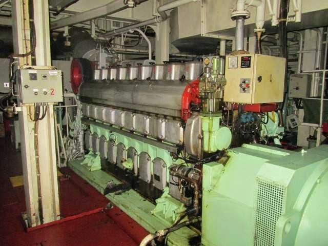 Wartsila 9L20 Genset, Wartsila marine engines, Wartsila
