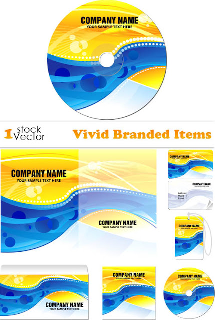Vector Stock - Vivid Branded Items