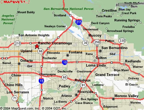 April 2013 California Map Cities Town Pictures
