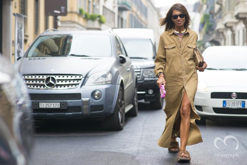Viviana Volpicella at Milan Fashion Week 2015 Spring Summer MFW
