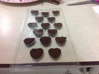 coeurs en chocolat 2