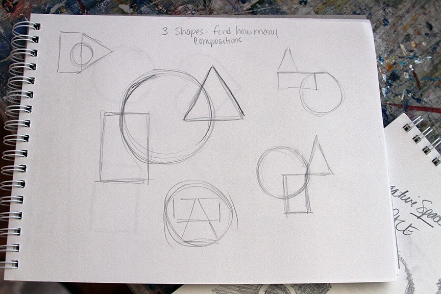 Elements Of Art Shape : Lessons in art second element of shape