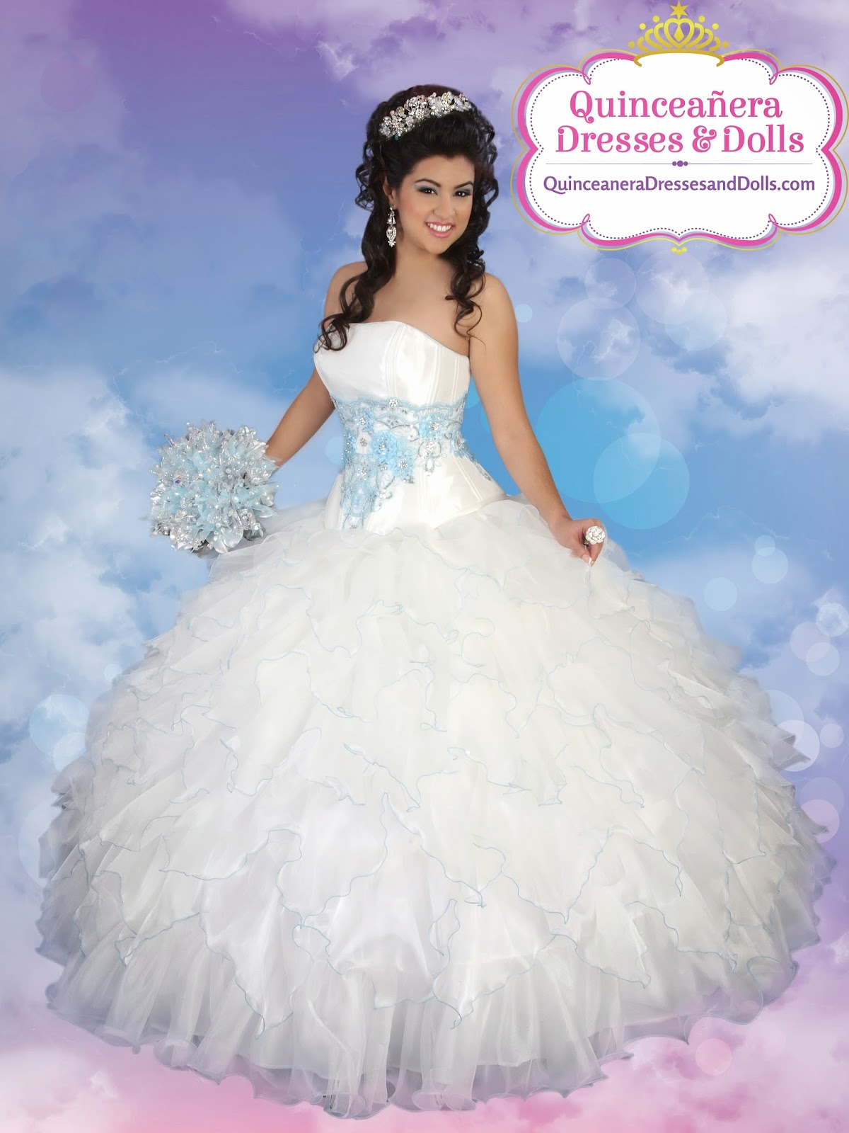 LA Glitter Angel Style