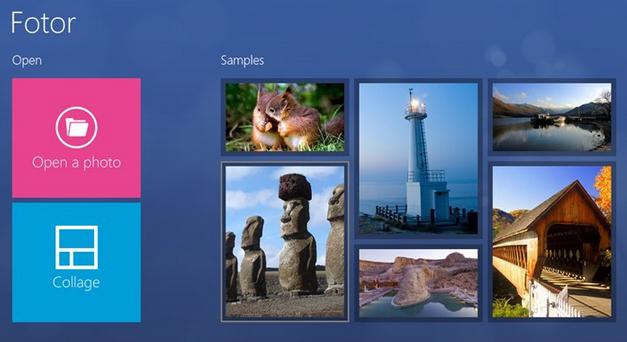 programma foto windows 8