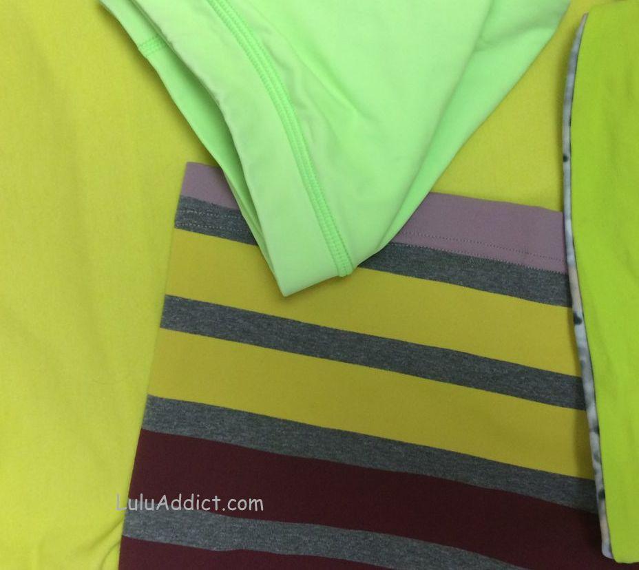 lululemon almost pear zippy green antidote