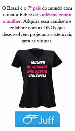 Compre e ajude o projeto social #mulherdeveradenaoaceitaviolencia