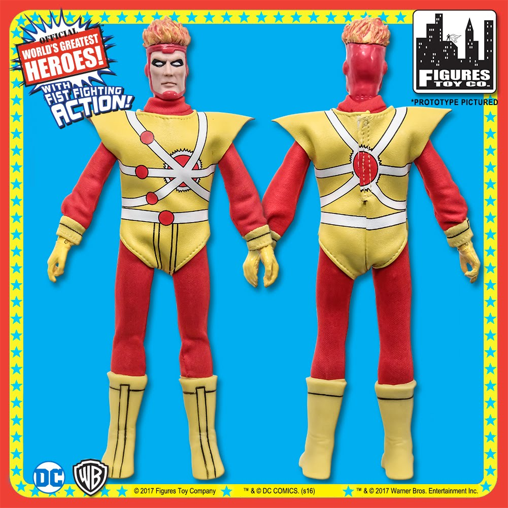 Red Tornado DC Comics 8 Inch Action Figures With Retro Cards