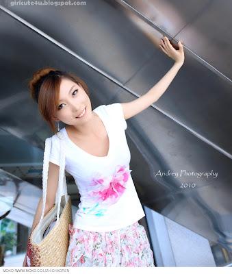 Li-Fan-Pink-and-White-03-very cute asian girl-girlcute4u.blogspot.com