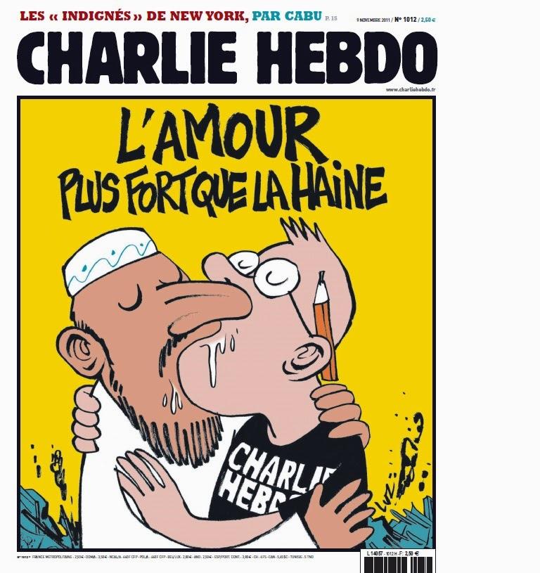 l'amour plus fort que la haine, attentat, charlie hebdo, bullelodie