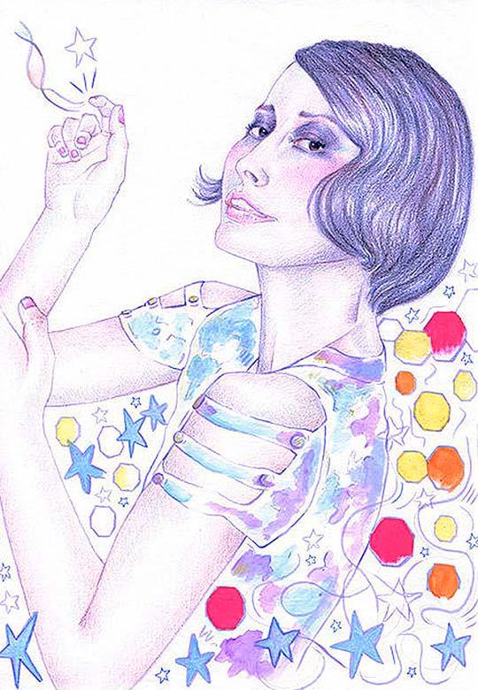 Ilustración de Vivian Saad