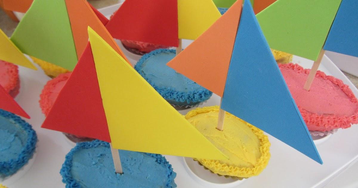Making Memories: Sailboat Cupcakes K Michelle 2013