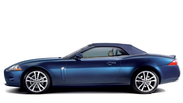 Jaguar XK Blue Car
