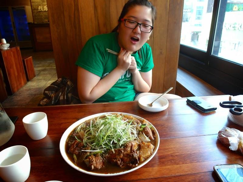 Ewha University Summer Studies Travel Seoul Edae SE7EN Yeolbong Jjimdak review lunarrive singapore