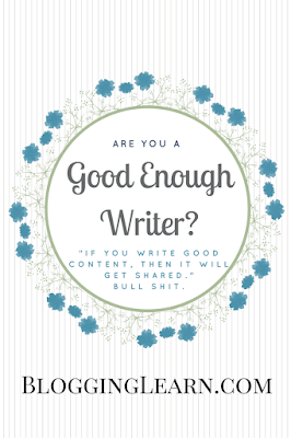 Are you a good enough writer?