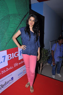 Actress Sakhi Chowdary Pictures in Tight Jeans at Green Ganesh 0013.jpg