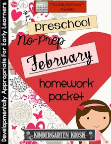 Preschool Homework