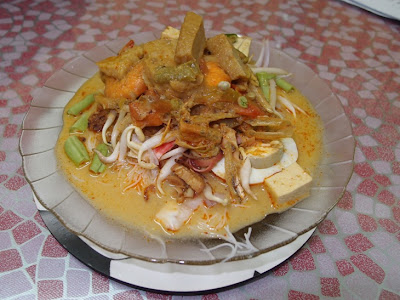 prawn laksa recipe. laksa recipe