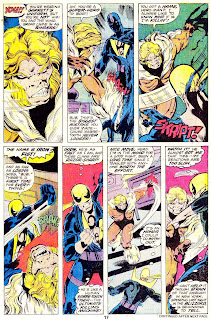 Iron Fist v1 #14 sabre-tooth marvel comic book page art by John Byrne