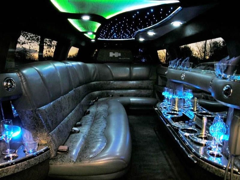 World Of Cars Hummer Limousine Interior Images