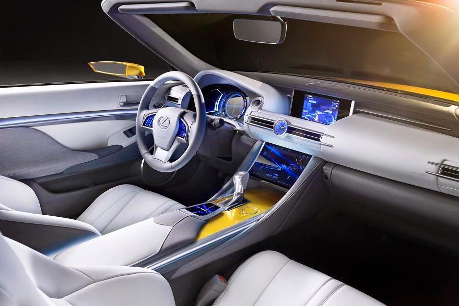 Lexus LF-C2 Concept (2014) Interior