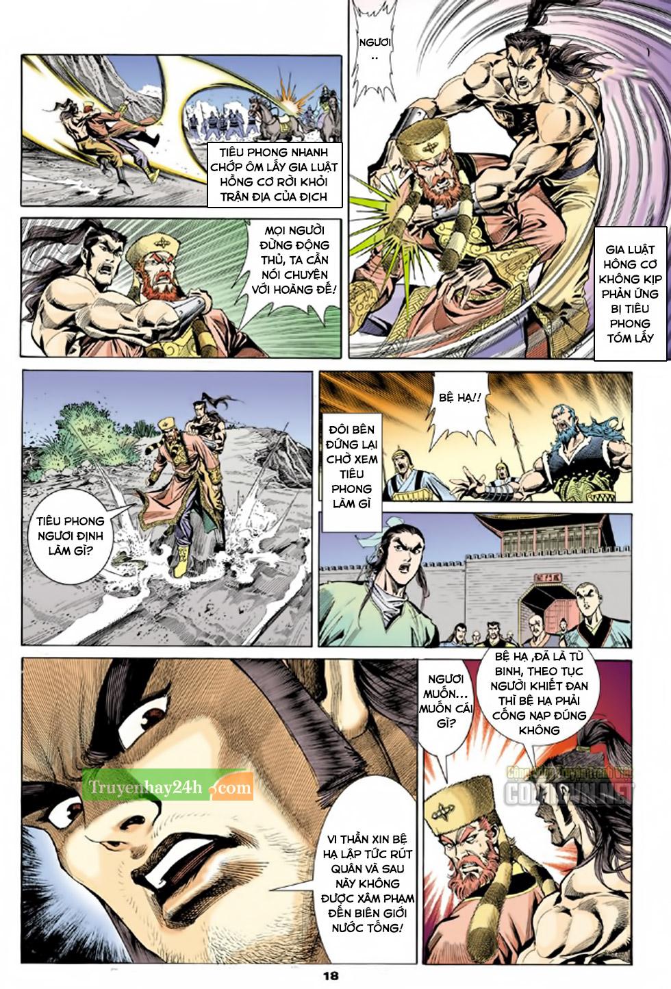 Thiên Long Bát Bộ chap 100 - Trang 19