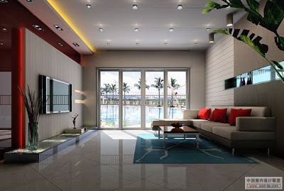 gambar desain interior minimalis: desain ruang tamu