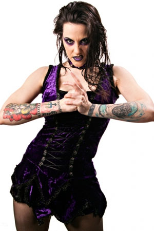 Wrestler Daffney