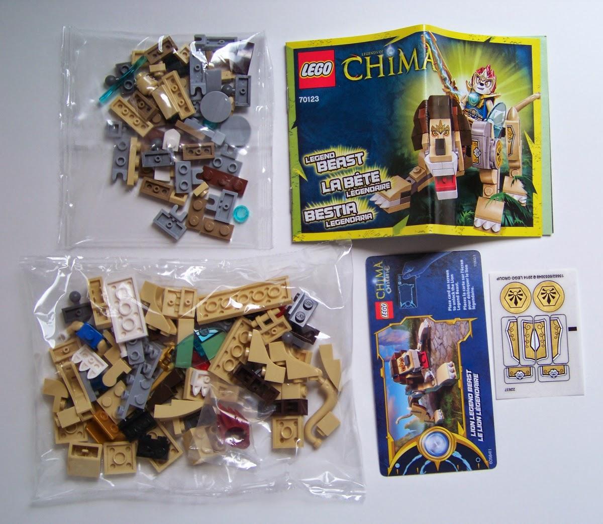 LEGO Legend Beast 70123 review