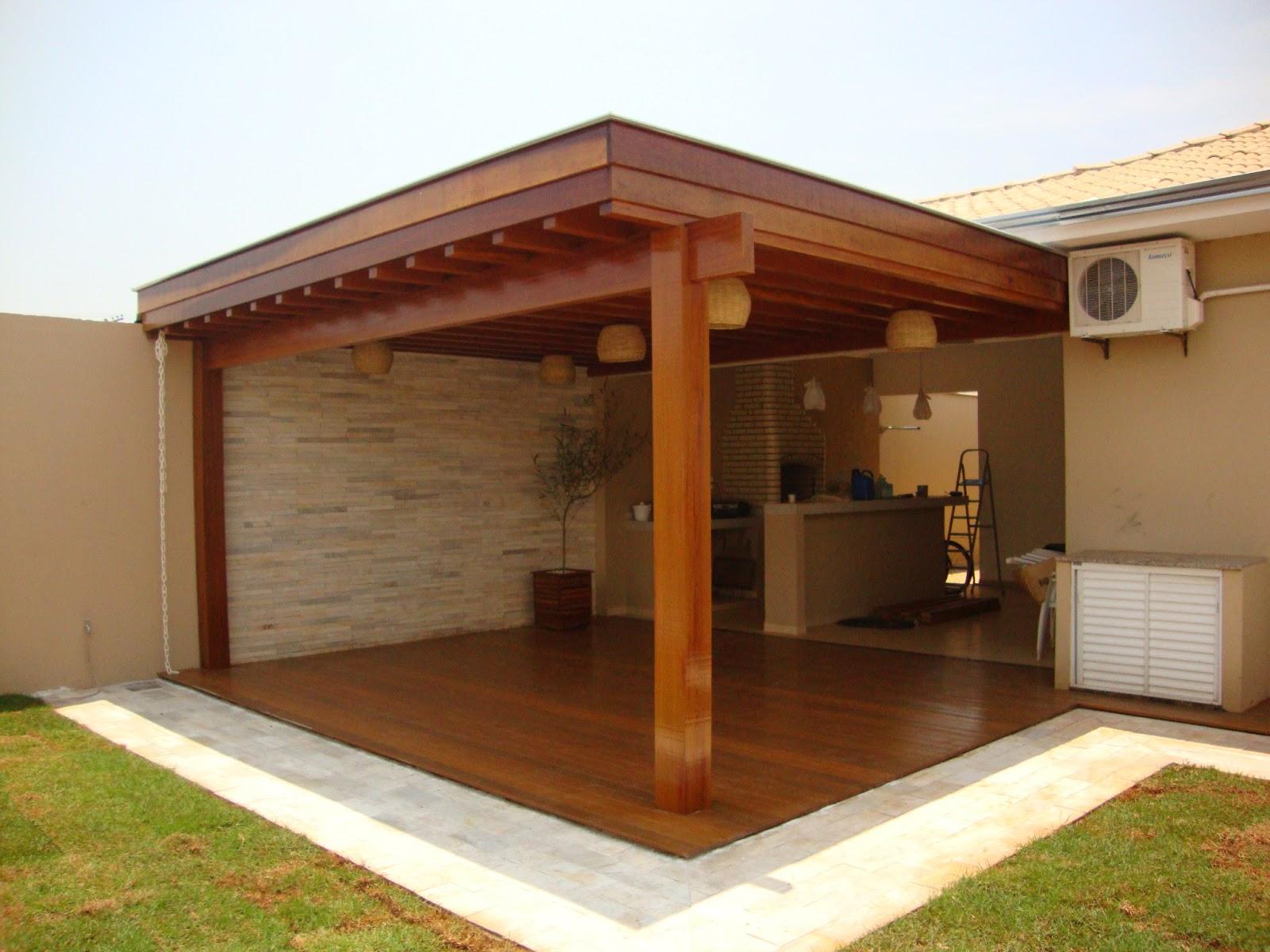 Nilson carpinteiro pergolado coberto com bambu tran ado - Casa de fotos ...