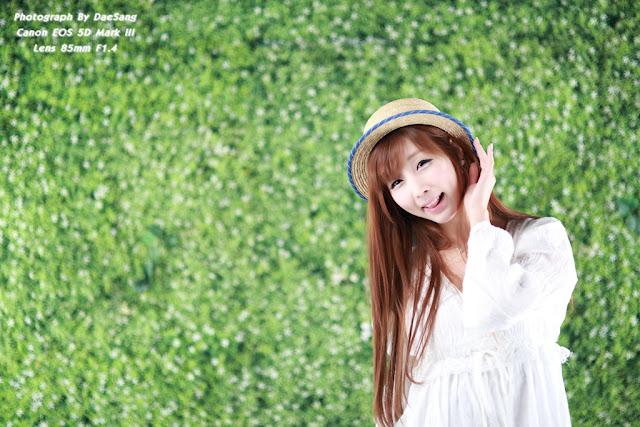 5 Lee Yoo Eun in White-Very cute asian girl - girlcute4u.blogspot.com