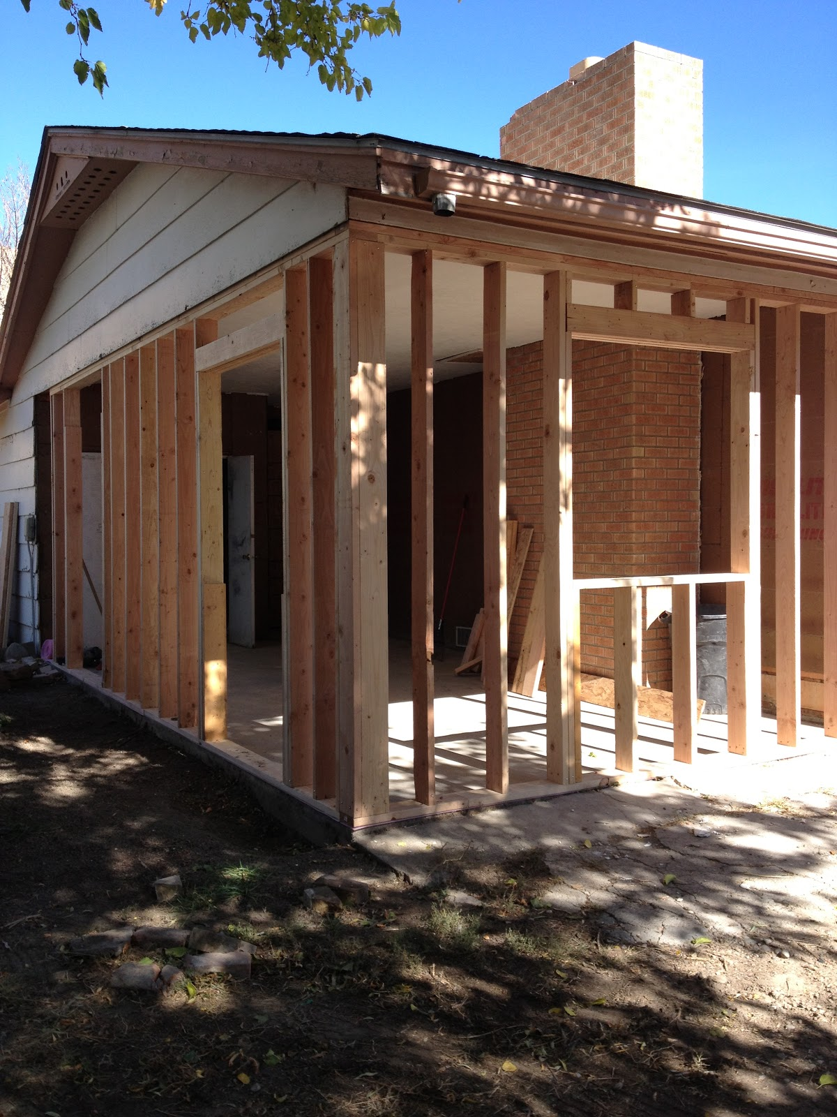 Enclose Carport Into Room : The handwork chronicles framing